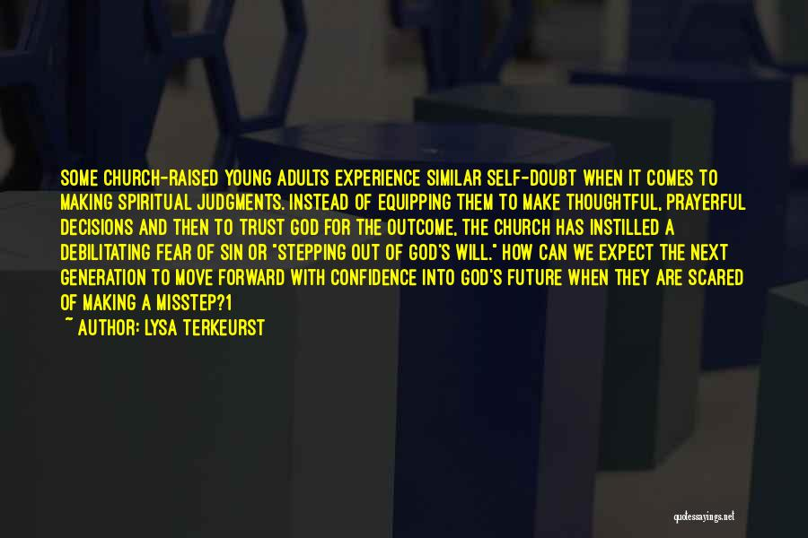 Misstep Quotes By Lysa TerKeurst