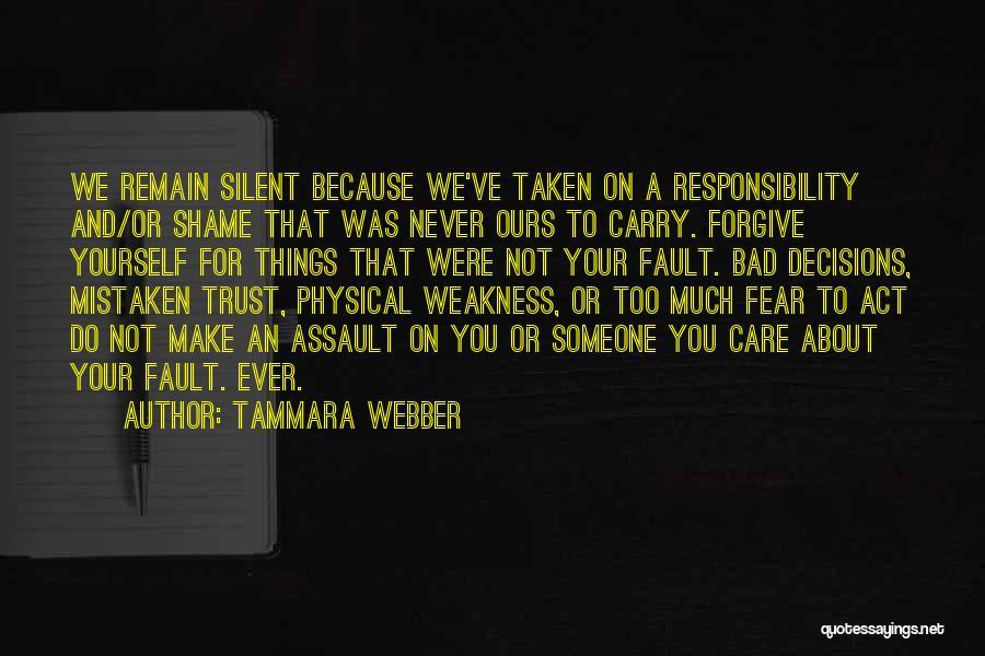 Mistaken Trust Quotes By Tammara Webber