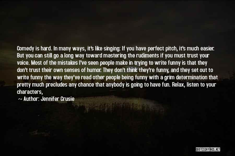 Mistakes And Flaws Quotes By Jennifer Crusie