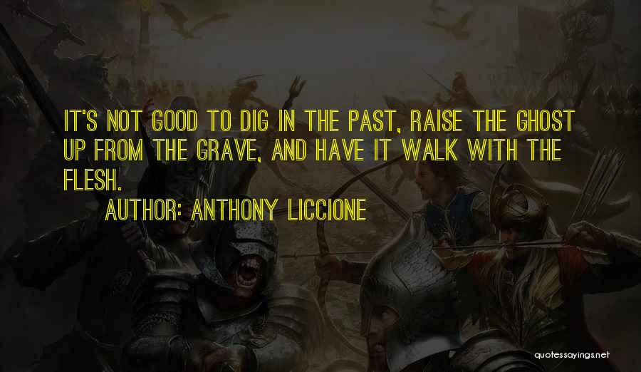 Mistakes In Your Past Quotes By Anthony Liccione