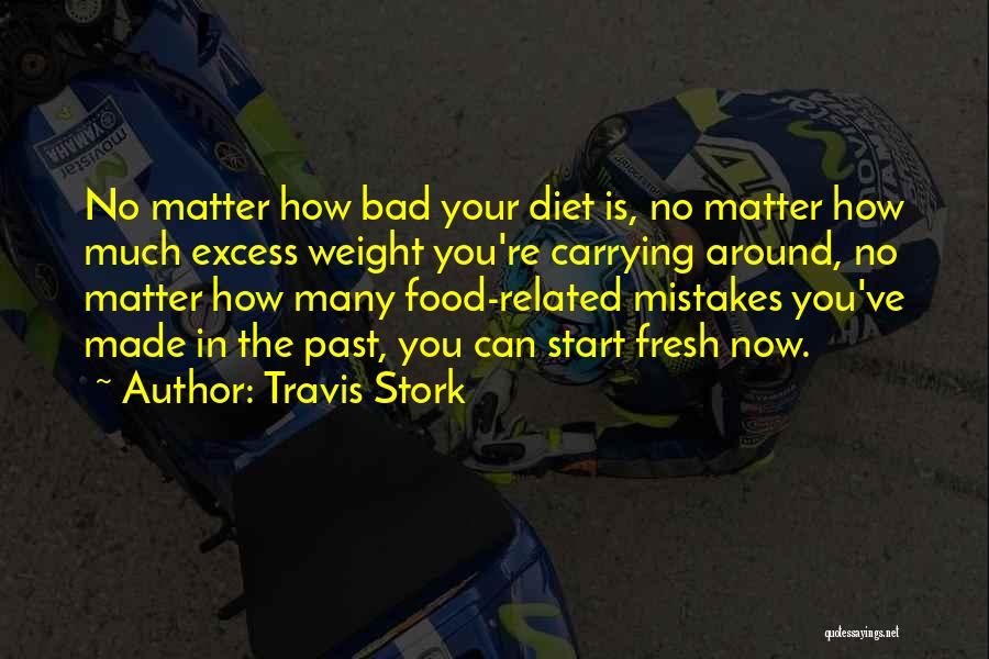 Mistakes In Your Past Quotes By Travis Stork