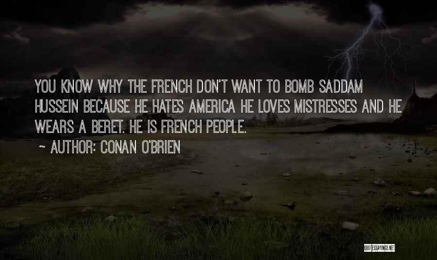 Mistresses Quotes By Conan O'Brien