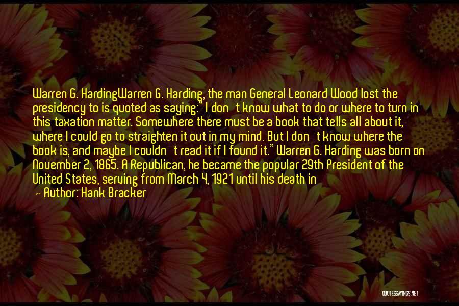 Mistresses Quotes By Hank Bracker
