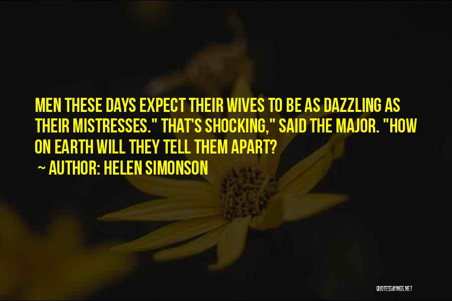 Mistresses Quotes By Helen Simonson