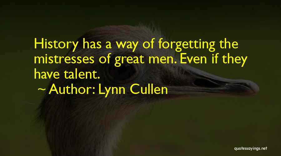 Mistresses Quotes By Lynn Cullen