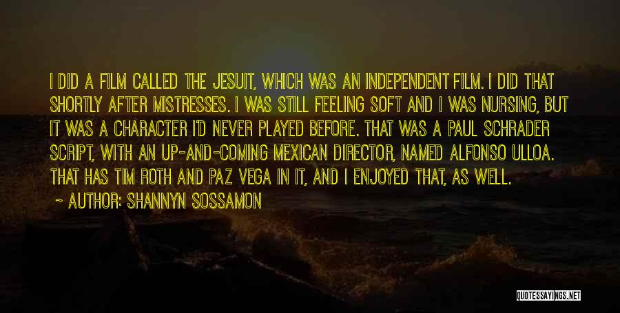 Mistresses Quotes By Shannyn Sossamon