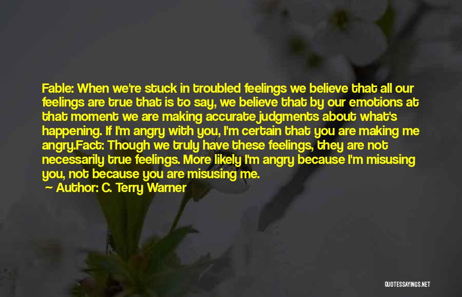 Misusing Quotes By C. Terry Warner