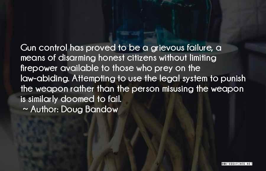 Misusing Quotes By Doug Bandow