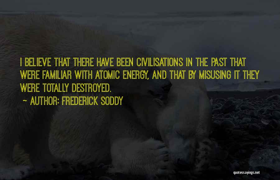 Misusing Quotes By Frederick Soddy