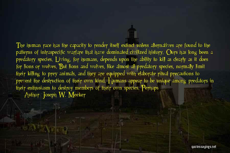 Misusing Quotes By Joseph W. Meeker