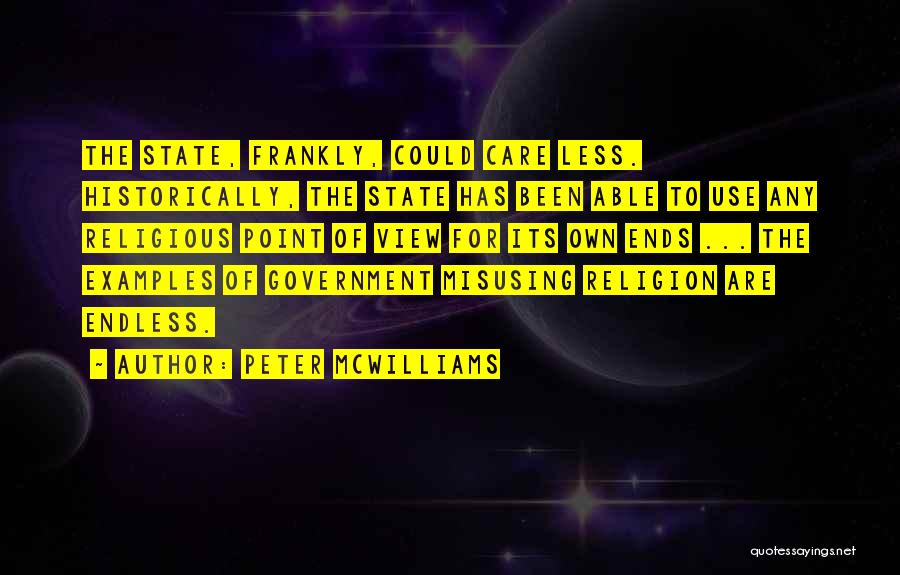 Misusing Quotes By Peter McWilliams