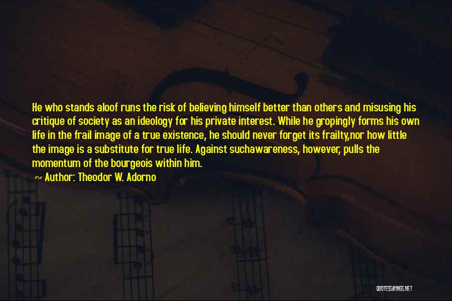 Misusing Quotes By Theodor W. Adorno