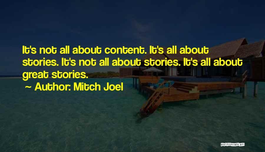 Mitch Joel Quotes 1413029