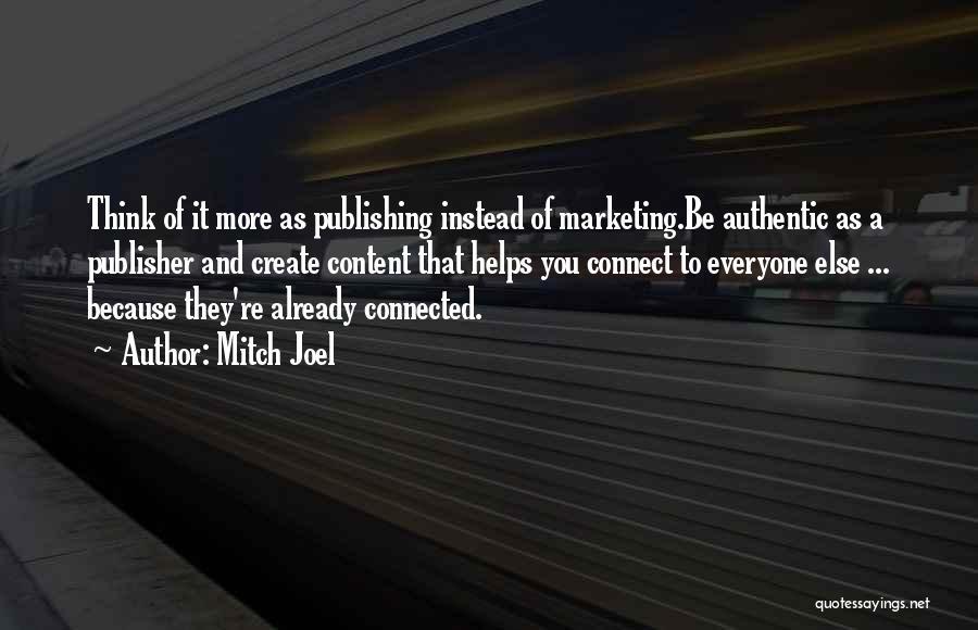Mitch Joel Quotes 1964770