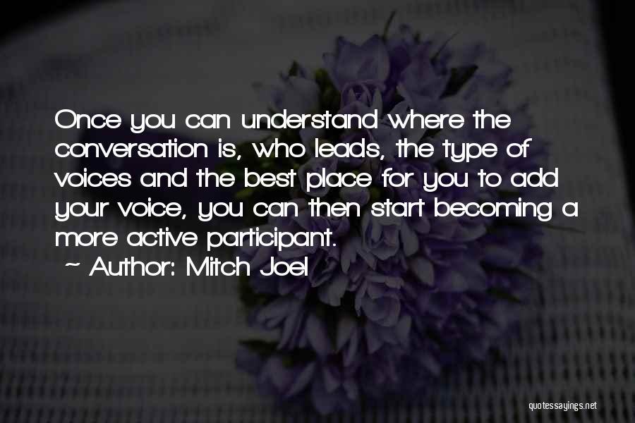 Mitch Joel Quotes 2266350