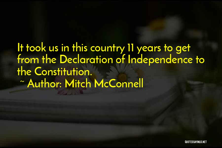 Mitch McConnell Quotes 2108823