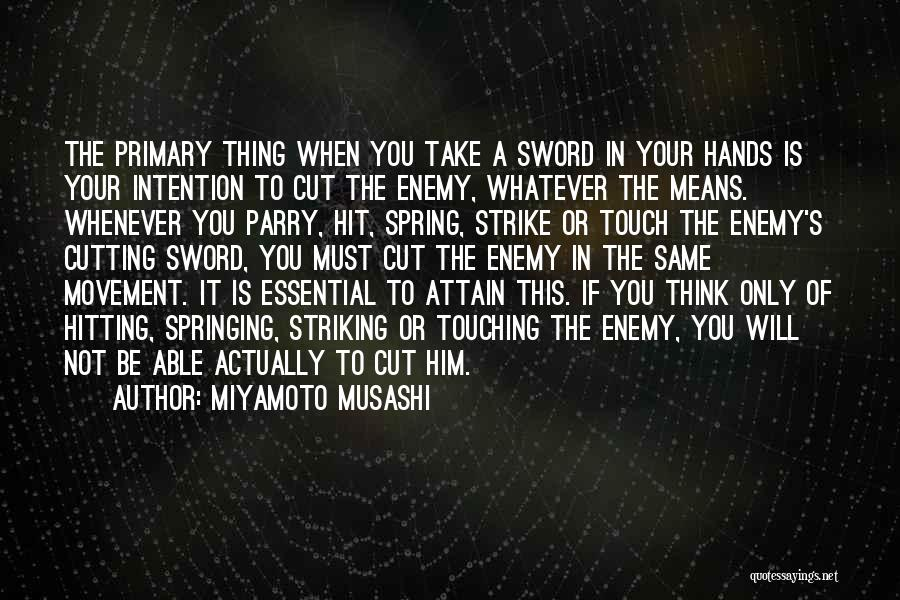Miyamoto Musashi Quotes 508410