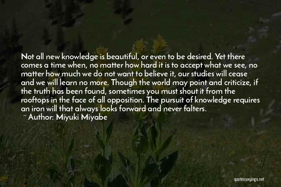 Miyuki Miyabe Quotes 97159
