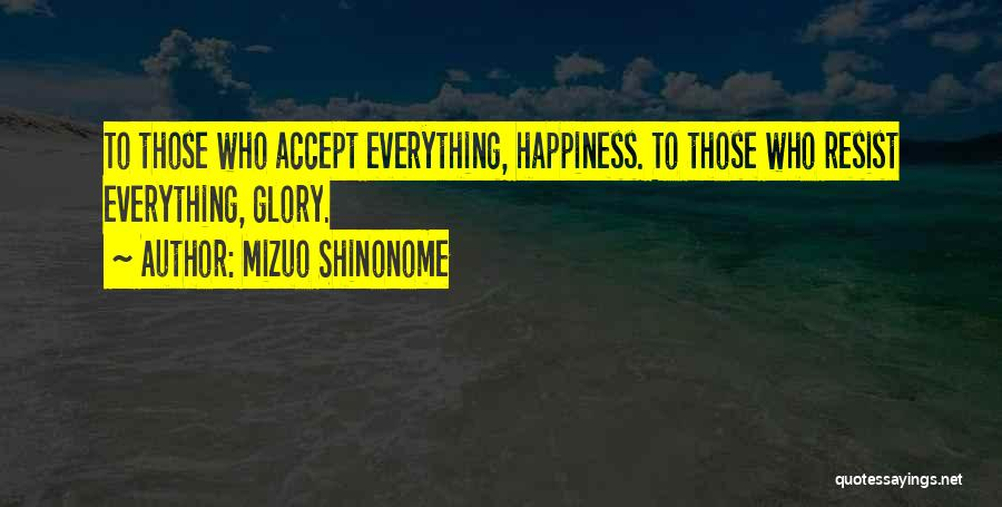 Mizuo Shinonome Quotes 2165673