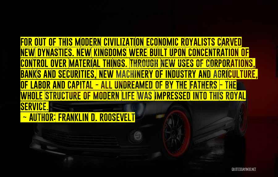 Modern Agriculture Quotes By Franklin D. Roosevelt