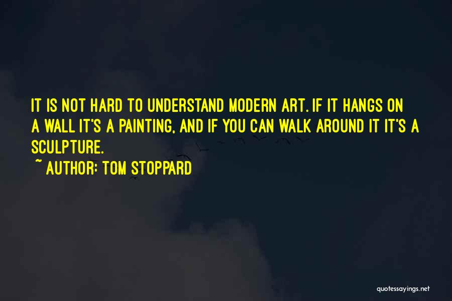 Modern Wall Art Quotes By Tom Stoppard