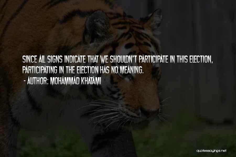 Mohammad Khatami Quotes 1193471
