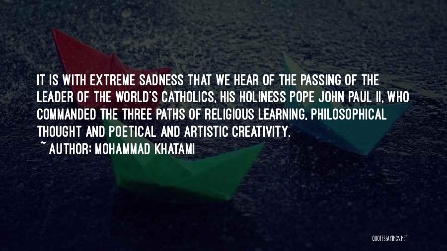 Mohammad Khatami Quotes 584143