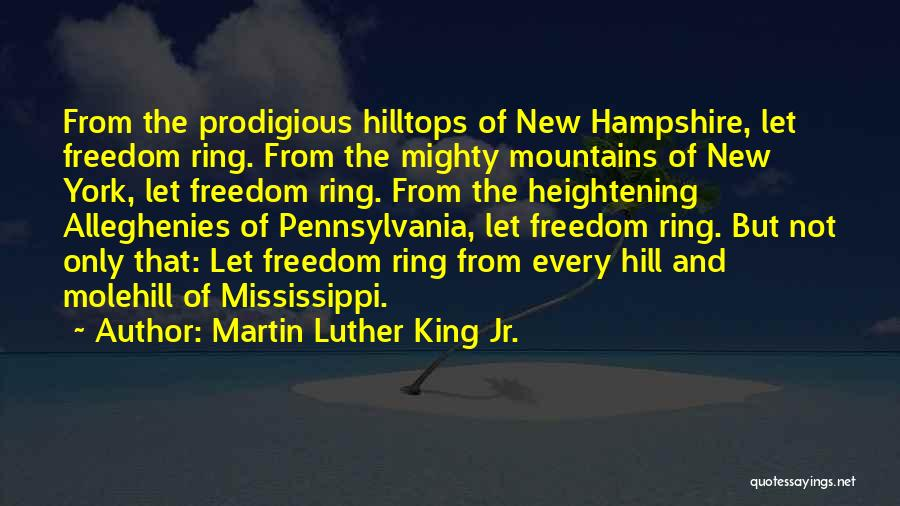 Molehill Quotes By Martin Luther King Jr.