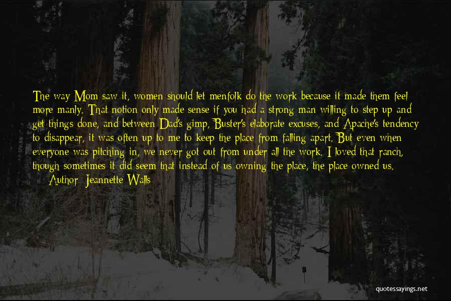Mom And Dad From Daughter Quotes By Jeannette Walls