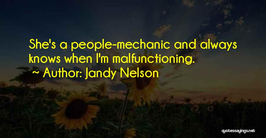 Mom And Daughter Quotes By Jandy Nelson