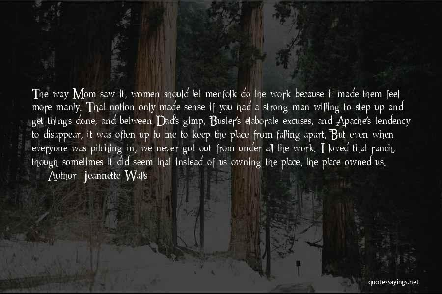 Mom And Daughter Quotes By Jeannette Walls