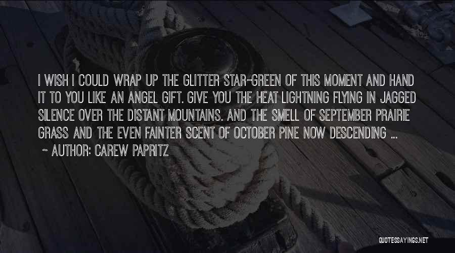 Moment Of Silence Quotes By Carew Papritz