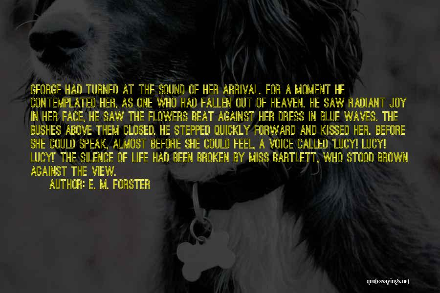 Moment Of Silence Quotes By E. M. Forster