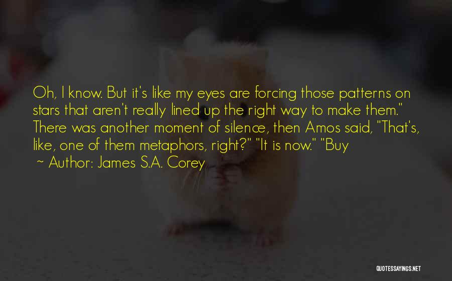 Moment Of Silence Quotes By James S.A. Corey