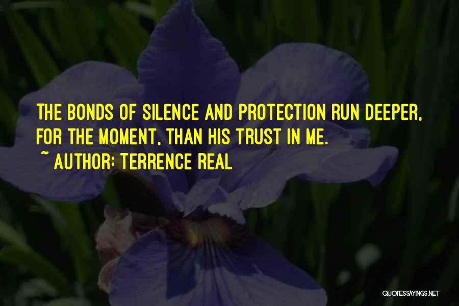 Moment Of Silence Quotes By Terrence Real