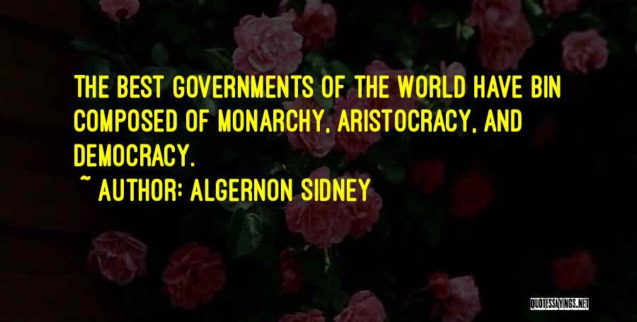 Monarchy Quotes By Algernon Sidney