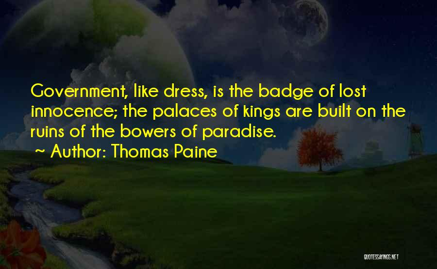 Monarchy Quotes By Thomas Paine