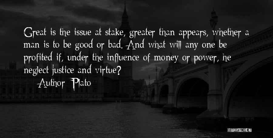 Money Issue Quotes By Plato
