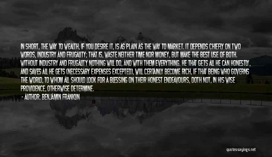 Money Make Everything Quotes By Benjamin Franklin