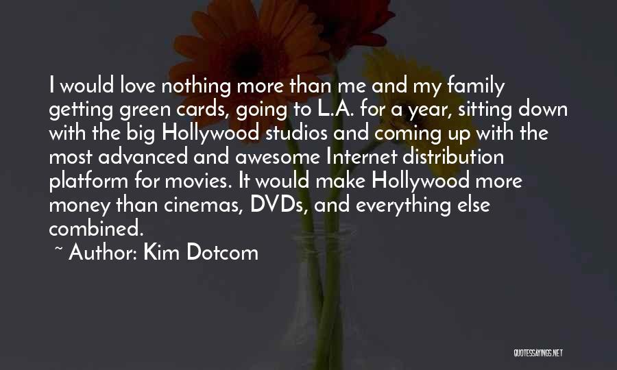 Money Make Everything Quotes By Kim Dotcom