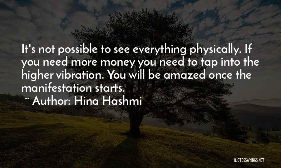 Money Manifestation Quotes By Hina Hashmi