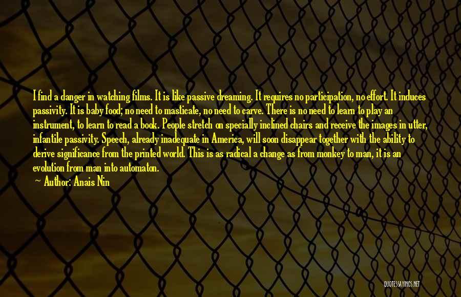 Monkey Man Quotes By Anais Nin