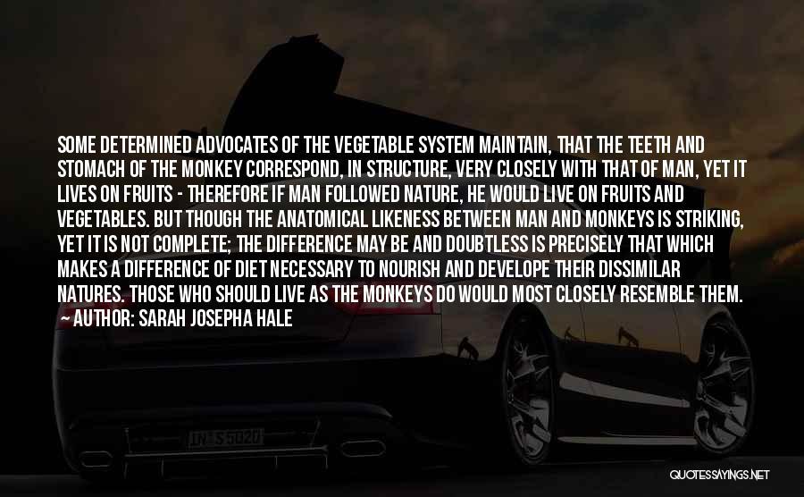 Monkey Man Quotes By Sarah Josepha Hale