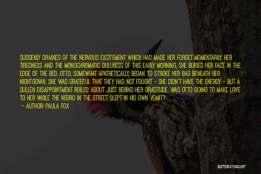 Monochromatic Quotes By Paula Fox