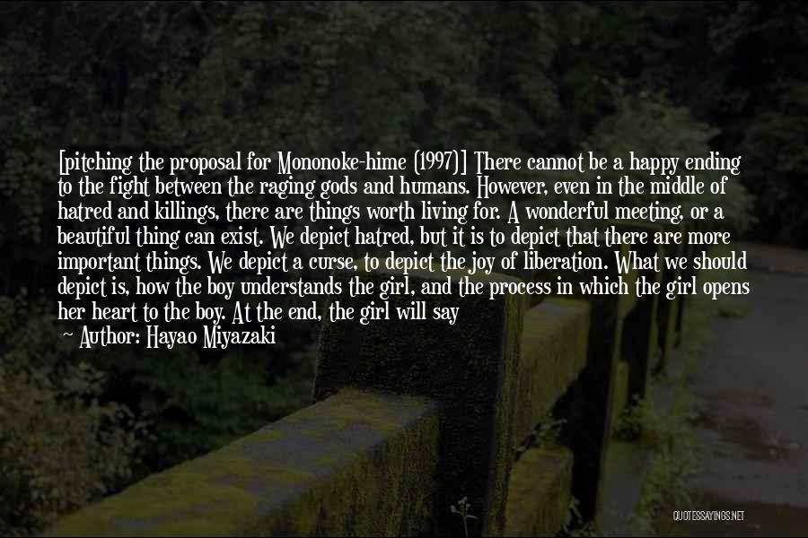 Mononoke Quotes By Hayao Miyazaki