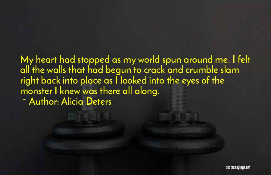 Monster Inc Quotes By Alicia Deters