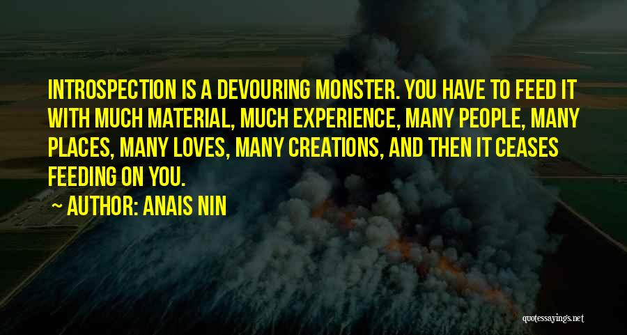 Monster Inc Quotes By Anais Nin