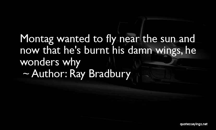 Montag In Fahrenheit 451 Quotes By Ray Bradbury