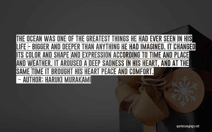 Moody Weather Quotes By Haruki Murakami