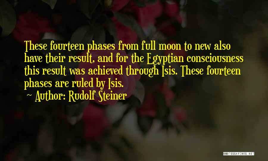 Moon Phases Quotes By Rudolf Steiner